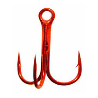 Fish Season Treble Hook Red 11030-R №12
